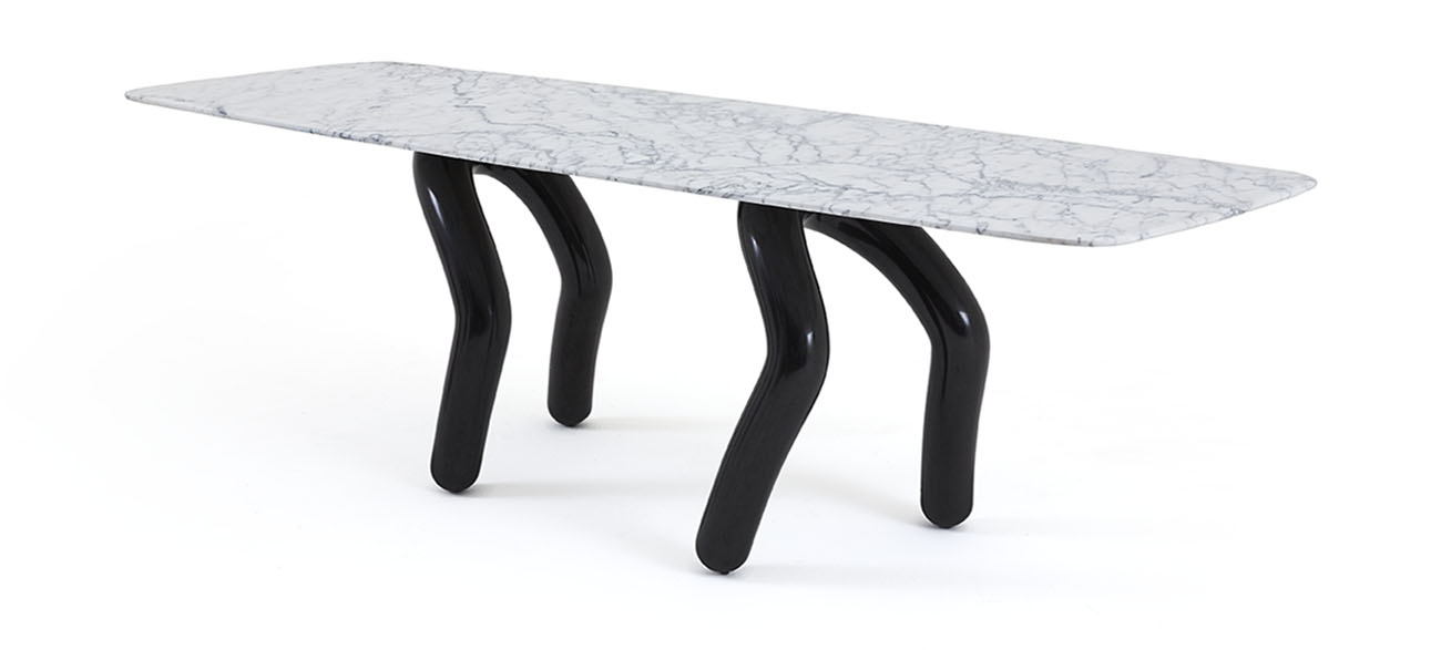 Stepp Table: 84 × 250 × h 74cm
