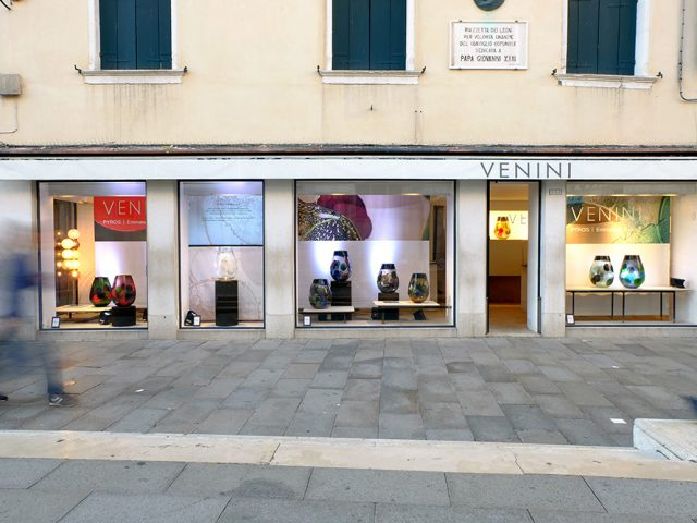 Pyros, Venini Showroom, Venice Glass Week 2017
