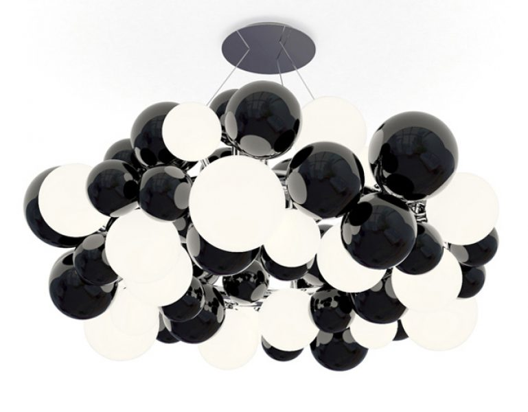 Superball - Chandelier in Murano glass