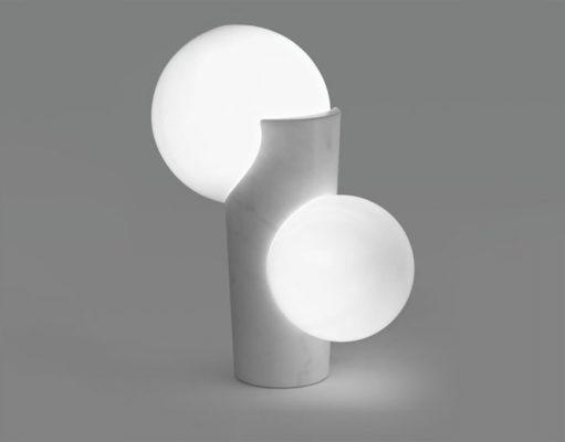 Osmosi Lamp 1 - Carrara Statuario Marble -