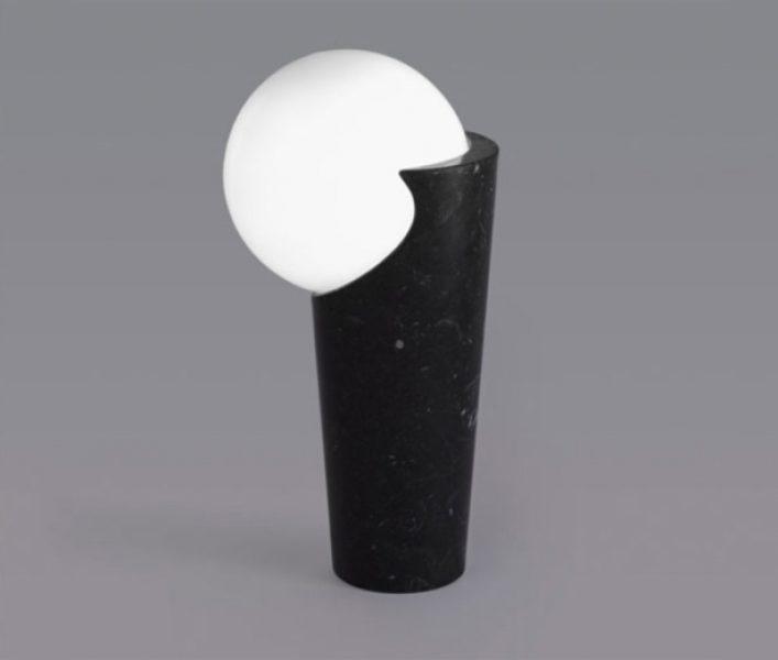 Osmosi Lamp 2 - Black Marquina Marble