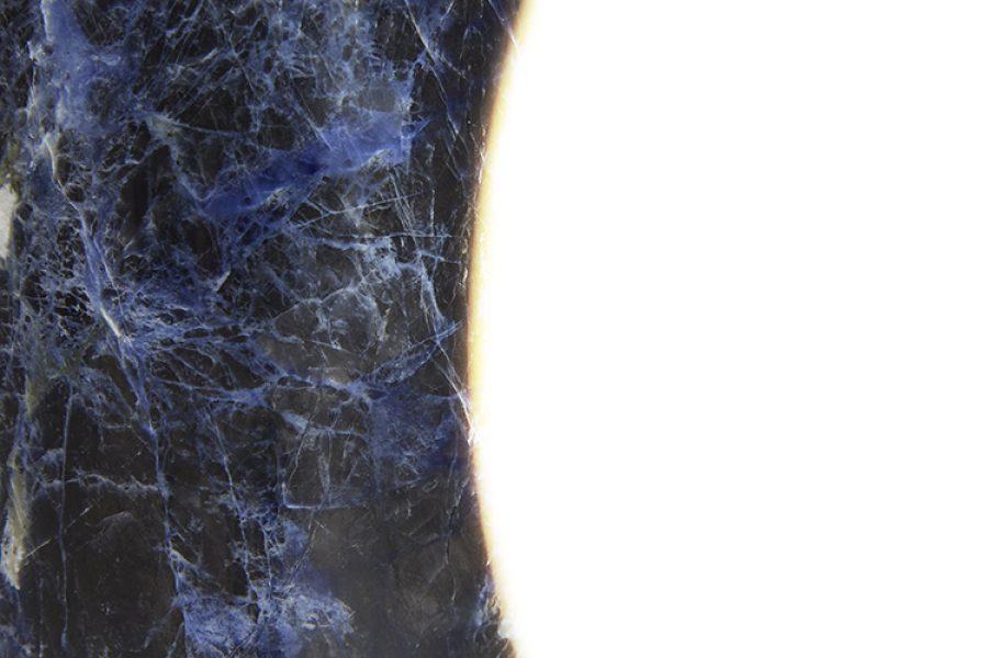 Osmosi Lamp 1 - Sodalite - Detail