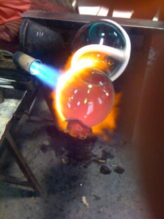 Seaform - Work in Progress - Furnace Anfora - Murano