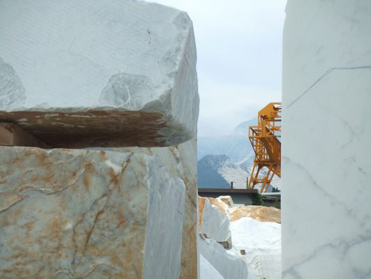Sunshare - Work in Progress - Carrara marble quarry