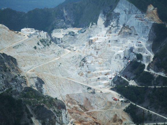 Sunshare - Work in Progress - Carrara marble quarry